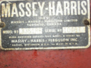 Massey Harris 33 Stratford Kitchener Area image 8