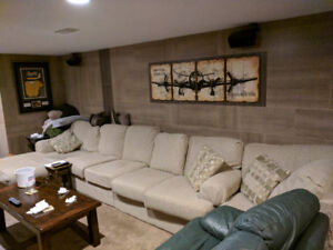 Large comfy Sectional Sofa Couch