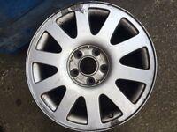 """Audi 16"""" alloy"""