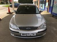 2007 Ford Mondeo 2.0TDCi 130 (SIV) - 7 SERVICE STAMPS74K - 1 YEAR MOT