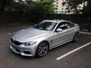 BMW 428i 2 DOOR SPORTS IN MINT CONDITION - RED INTERIOR LEATHER