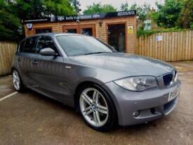 58 REG BMW 118 2.0TD M SPORT IN GREY
