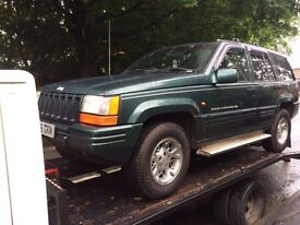 BREAKING JEEP GRAND CHEROKEE