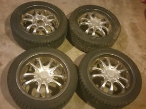 Michelin 225/45R17 winter tires/rims from 2011 VW Jetta