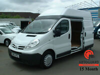 2013 NISSAN PRIMASTAR 2.0dCI 115PS Euro 5 WHITE DIESEL HIGH ROOF VAN 3000