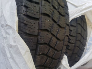 winter tires and rims  235 65/R17