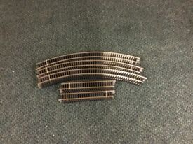 00 GAUGE CURVED AND SHORT STRAIGHT TRACK