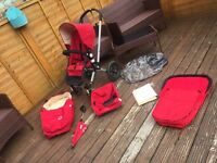Bugaboo Frog with accessories £100