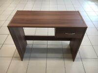 Small walnut finished computer desks for sale brand new