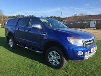 Ford Ranger 3.2TDCi ( 200PS ) ( EU5 ) 4x4 Double Cab Limited Blue Manual