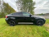 BMW X6 3.0 35D XDRIVE 5DOOR 2009 09 REG 98,302 MILES FSH 1 PREVIOUS OWNER £12995
