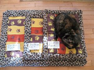 Plush Hand Made Pet Beds