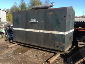 75KW 120-240-480 volt detriot diesel enclosed genset with transf