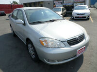2006 TOYOTA COROLLA LE with only 59000kms