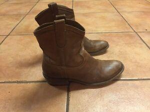 Frye cowboy boots size 7.5