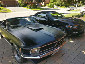 Restored and gorgeous 1970 Ford Mustang Convertible needs a home