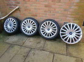 Ford Mondeo ST 18 inch alloys