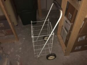 foldable grocery cart