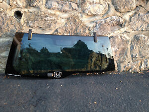 HONDA CRV tailgate window glass