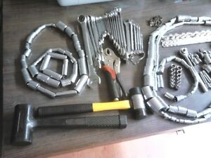Over 200 pcs, Sockets, Ratchets, wrenches, etc