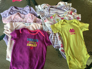 18-24 months short sleeves 8 body's in excellent condition