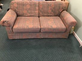 Large double Sofa bed (marks and spencer)