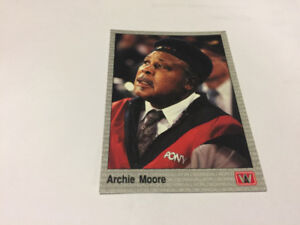 "1991 AW Sports Boxing Card # 115 ARCHIE MOORE""THE OLD MONGOOSE"""