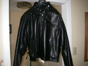 Schott Model 141 Leather Motorcycle Jacket