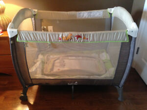 Summer Woodland Playpen with bassinet attachment & change table