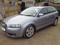 2005 Audi A3 Sportback Sport 2.0TDI Diesel FSH FREE Warranty & 12 Months MOT