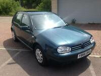 2001 Volkswagen Golf Cross 5 Door 1.4 Metallic Deep Sea Green
