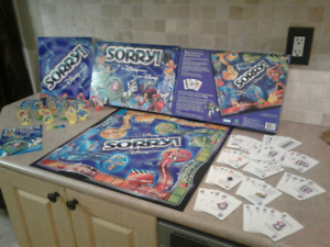 2001 Sorry! Board game the Disney edition. Complete!