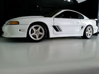 Diecast Autoart Mustang Saleen S351 coupe BLANCHE 1/18
