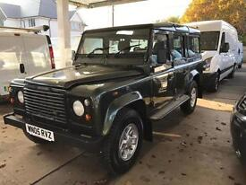 2005 LAND ROVER DEFENDER 110 2.5 TD5 County Station Wagon 5dr