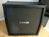 Electric Guitar Line 6 4x12 Cabinet $200