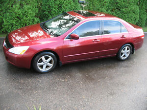 2003 Honda Accord exll Berline
