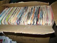 195  45 RPM RECORDS