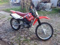 110 pit bike (Honda ttr)