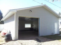 Large, clean, heated GARAGE for RENT