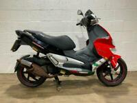 Gilera Runner SP 50 2009 SPARES OR REPAIR SCOOTER 2 STROKE EXHAUST 50CC 2T