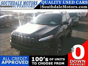 2016 JEEP CHEROKEE TRAILHAWK * 4WD * LEATHER * SUNROOF * NAV * R