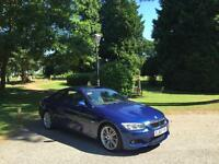 2010 BMW 325 2 Door Coupe 3.0 Turbo Diesel M Sport Auto Blue(FINANCE AVAILBLE)