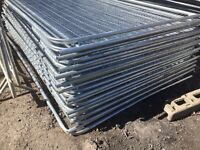 🔨🌟New Round Top Heras Style Metal Fencing