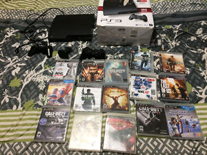 PS3 for sale 15 games