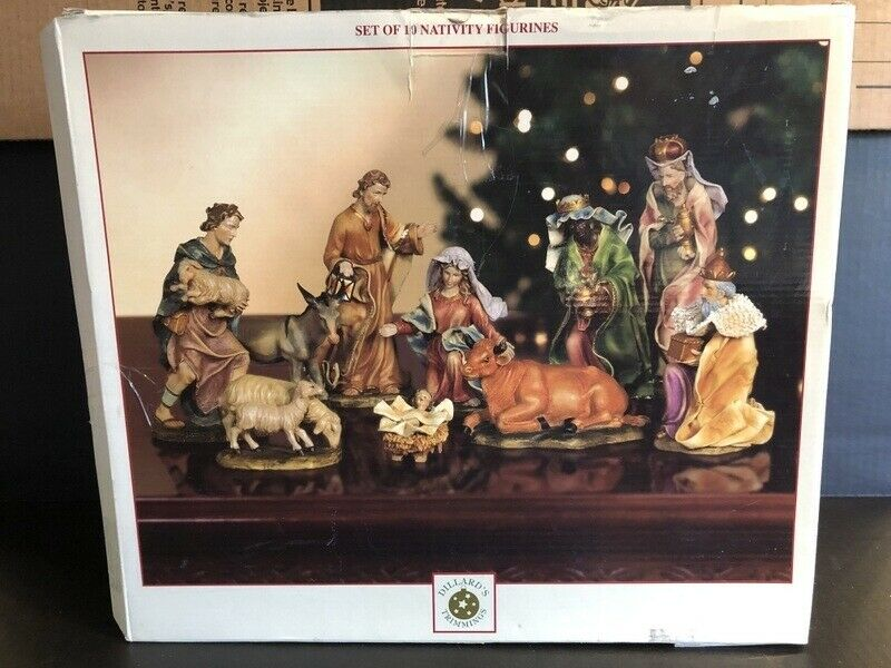Dillards Nativity Figurine Set