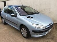 2004 Peugeot 206 1.4 LX Petrol ***ONLY 66k with FSH ***