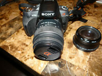 Sony Alpha A330L 10.2MP and 18-55mm Lens