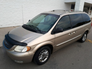 2002 Chrysler Town and Country Limited - $2250.00 AS IS!