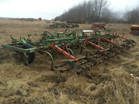 Cultivator, plow, squeeze chute