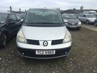 2003 Renault espace, 2.2 diesel, breaking for parts only, all parts available